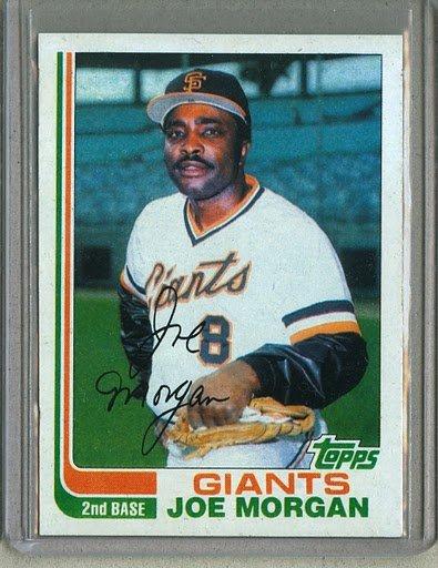 1982 Topps Baseball #754 Joe Morgan Giants Pack Fresh