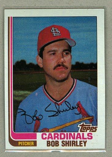 1982 Topps Baseball #749 Bob Shirley Cardinals Pack Fresh