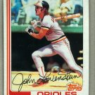 1982 Topps Baseball #747 John Lowenstein Orioles Pack Fresh