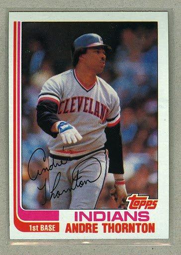 1982 Topps Baseball #746 Andre Thompson Indians Pack Fresh