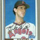 1982 Topps Baseball #744 Mike Witt Angels Pack Fresh