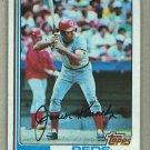 1982 Topps Baseball #723 Junior Kennedy Reds Pack Fresh