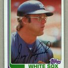 1982 Topps Baseball #720 Greg Luzinski White Sox Pack Fresh