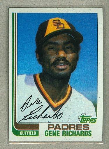 1982 Topps Baseball #708 Gene Richards Padres Pack Fresh