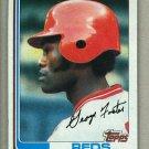 1982 Topps Baseball #700 George Foster Reds Pack Fresh