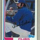 1982 Topps Baseball #699 Dick Tidrow Cubs Pack Fresh