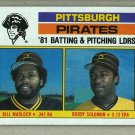 1982 Topps Baseball #696 Pirates Team Checklist Pack Fresh