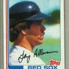 1982 Topps Baseball #686 Gary Allenson Red Sox Pack Fresh