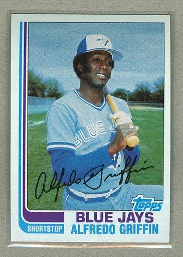 1982 Topps Baseball #677 Alfredo Griffin Blue Jays Pack Fresh