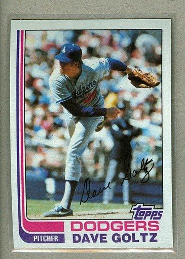 1982 Topps Baseball #674 Dave Goltz Dodgers Pack Fresh