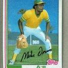 1982 Topps Baseball #671 Mike Davis A's Pack Fresh