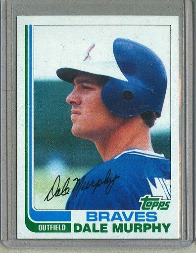 1982 Topps Baseball #668 Dale Murphy Braves Pack Fresh