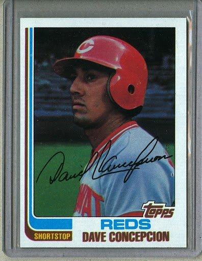 1982 Topps Baseball #660 Dave Concepcion Reds Pack Fresh