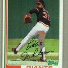 1982 Topps Baseball #656 Eddie Whitson Giants Pack Fresh