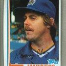 1982 Topps Baseball #649 Ken Clay Mariners Pack Fresh