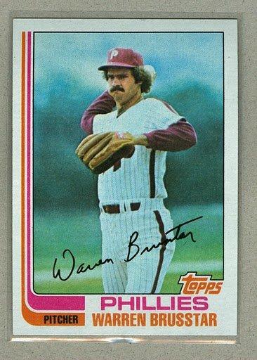 1982 Topps Baseball #647 Warren Brusstar Phillies Pack Fresh