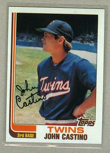 1982 Topps Baseball #644 John Castino Twins Pack Fresh