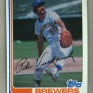 1982 Topps Baseball #643 Pete Vuckovich Brewers Pack Fresh