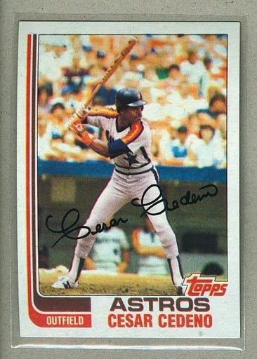 1982 Topps Baseball #640 Cesar Cedeno Astros Pack Fresh