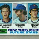 1982 Topps Baseball #623 Gardenhire/Leach/Leary RC Mets Pack Fresh