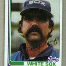 1982 Topps Baseball #622 Dennis Lamp White Sox Pack Fresh