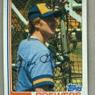 1982 Topps Baseball #613 Jim Gantner Brewers Pack Fresh