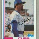 1982 Topps Baseball #607 Leon Durham Cubs Pack Fresh