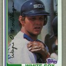 1982 Topps Baseball #597 Wayne Nordhagen White Sox Pack Fresh