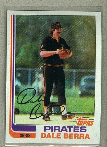 1982 Topps Baseball #588 Dale Berra Pirates Pack Fresh