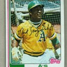 1982 Topps Baseball #578 Shooty Babitt A's Pack Fresh