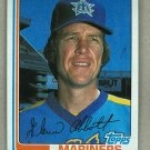 1982 Topps Baseball #571 Glenn Abbott Mariners Pack Fresh