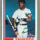 1982 Topps Baseball #569 Willie Randolph Yankees Pack Fresh