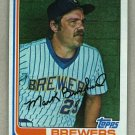 1982 Topps Baseball #517 Mark Brouhard Brewers Pack Fresh