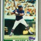 1982 Topps Baseball #493 Chet Lemon White Sox Pack Fresh