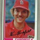 1982 Topps Baseball #474 Ken Oberkfell Cardinals Pack Fresh