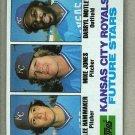1982 Topps Baseball #471 Hammaker/Jones/Motley Pack Fresh