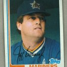 1982 Topps Baseball #440 Jeff Burroughs Mariners Pack Fresh