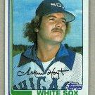 1982 Topps Baseball #428 Lamar Hoyt White Sox Pack Fresh