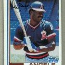 1982 Topps Baseball #415 Don Baylor Angels Pack Fresh