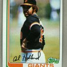 1982 Topps Baseball #406 Al Holland Giants Pack Fresh
