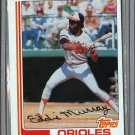 1982 Topps Baseball #390 Eddie Murray Orioles Pack Fresh