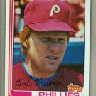 1982 Topps Baseball #384 Keith Moreland Phillies Pack Fresh