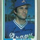 1982 Topps Baseball #372 Luis Gomez Braves Pack Fresh