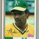 1982 Topps Baseball #370 Mike Norris A's Pack Fresh