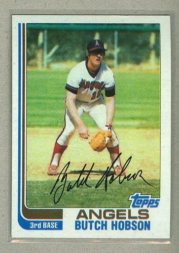 1982 Topps Baseball #357 Butch Hobson Angels Pack Fresh