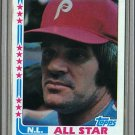 1982 Topps Baseball #337 Pete Rose Phillies Pack Fresh