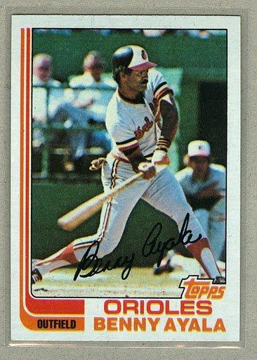 1982 Topps Baseball #331 Benny Ayala Orioles Pack Fresh