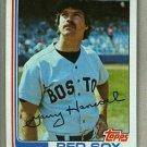 1982 Topps Baseball #322 Garry Hancock Red Sox Pack Fresh