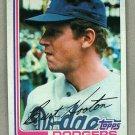 1982 Topps Baseball #315 Burt Hooton Dodgers Pack Fresh