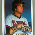 1982 Topps Baseball #313 John Harris Angels Pack Fresh